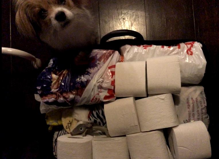 Toarullar som packning
