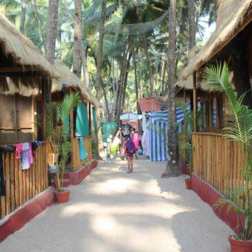 Boende Goa Palolem Beach