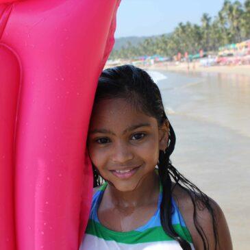Dag 1 Goa (Palolem beach)